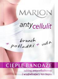 Marion Antycellulit Ciepłe bandaże-zabieg antycellulitowy na ciało 2szt