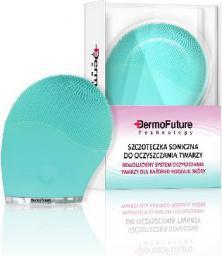 Dermofuture Technology Szczoteczka soniczna do oczyszczania twarzy zielona (631990)