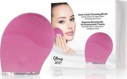Dermofuture Technology Szczoteczka soniczna do oczyszczania twarzy różowa (631983)