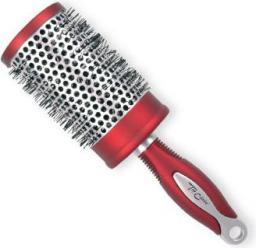 Top Choice Szczotka do włosów Exclusive rozm XL okrągła silver/burgund (62049-01)