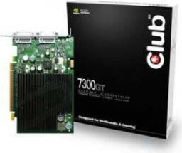 Karta graficzna Club 3D GeForce 7300 GT 256MB 7300GT 256/128 2XDVI PASSIVE