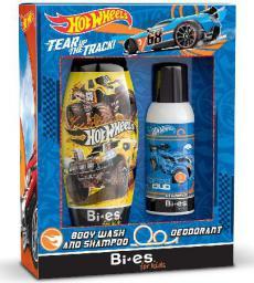 Bi-es Disney Zestaw prezentowy Hot Wheels (dezodorant spray 100 ml+żel pod prysznic 2w1 250ml)