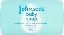 Johnson & Johnson Baby Mydło z proteinami z mleka 100 g