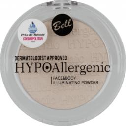 BELL Hypoalergiczny rozświetlacz do twarzy i ciała 01 - 833224