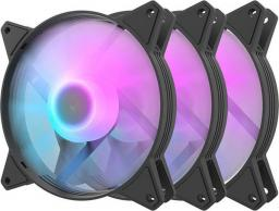 Wentylator Darkflash C6 3-pack