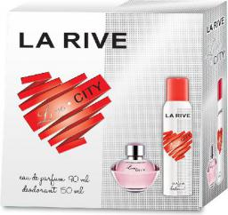 La Rive for Woman Love City Zestaw/edp90ml+deo150ml/