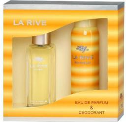 La Rive for Woman Zestaw/edp90ml+deo150ml/