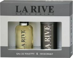 La Rive for Men Grey Point Zestaw/edt100ml+deo150ml/