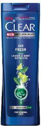 Clear  Szampon do włosów Przeciwłupieżowy Men 24H Fresh 400ml