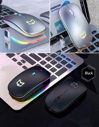 Mysz Mobilari Mysz bezprzewodowa A2 Czarna ładowana USB M444015BK