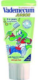 Vademecum  Junior Pasta do zębów dla dzieci 0-6 Jabłko 50ml