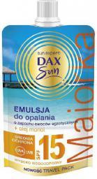 Dax Sun Emulsja do opalania SPF 15 Majorka  saszetka 50ml