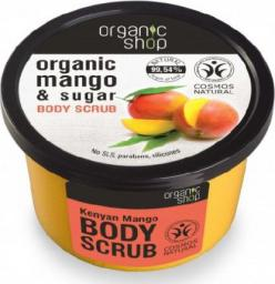 Organic Shop Scrub do ciała kenijskie mango BDIH 250 ml