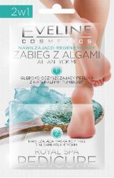 Eveline Royal Spa Pedicure Zabieg z algami do stóp nawilżająco-regenerujący  6 ml x 2