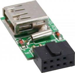 Czytnik InLine Wewnętrzny microSD, USB 2.0 (76638)