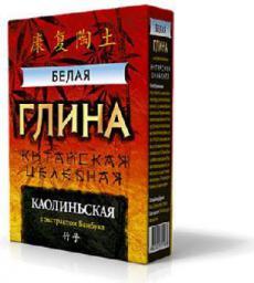 Fitocosmetics Glinka 100g biała chińska kaolińska