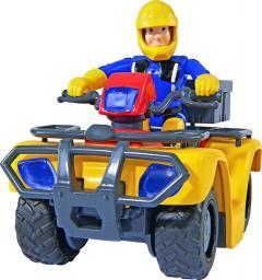 Simba Quad Strażak Sam Quad Mercury z figurką - 109257657038