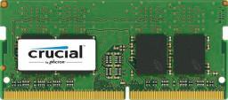 Pamięć do laptopa Crucial DDR4 SODIMM 4GB 2400MHz CL17 (CT4G4SFS824A)