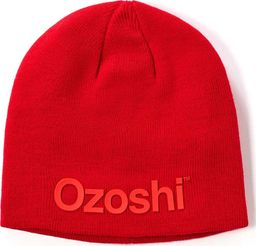 Ozoshi Czapka Ozoshi Hiroto Classic Beanie czerwona OWH20CB001