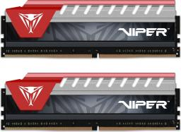 Pamięć Patriot Viper Elite, DDR4, 8 GB,2400MHz, CL15 (PVE48G240C5KRD)