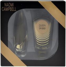 Naomi Campbell Queen of Gold Zestaw dla kobiet