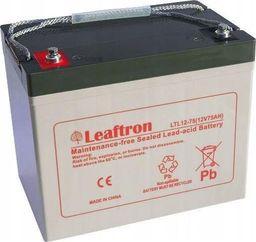 Leaftron Akumulator żelowy 12V 75Ah Long Life (10l)