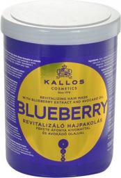 Kallos Blueberry Hair Mask Maska do włosów 1000ml