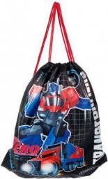 TFU Worek szkolny na ramię Transformers 1/24 czarno-czerwono-niebieski (348725)