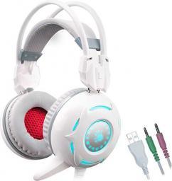 Słuchawki A4 Tech Bloody G300 białe (A4TSLU45543)