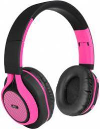 Słuchawki ART AP-B04 Czarno-różowe