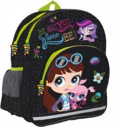 Starpak Plecak szkolny Littlest Pet Shop II czarny  (329024)