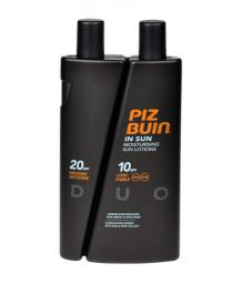 Piz Buin In Sun Lotion DUO SPF10 + SPF20 W 300ml