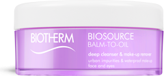 Biotherm Biosource Balm-To-Oil Deep Cleanser&Makeup Remover 125ml