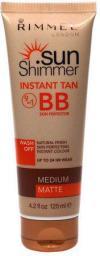 Rimmel  Sun Shimmer Instant Tan BB Skin Perfector W 125ml Medium Matte