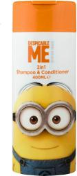Minions Shampoo & Conditioner 2in1 Szampon do włosów 400ml