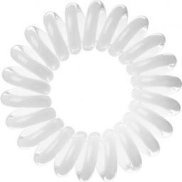 Invisibobble Hair Ring 3szt White