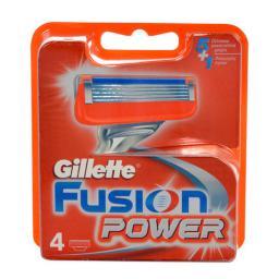 Gillette Fusion Power Wkłady do maszynki do golenia 4szt
