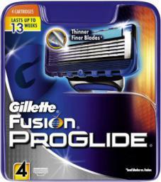 Gillette Fusion Proglide Wkład do maszynki do golenia 4szt