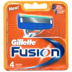 Gillette Fusion Manual 4 wkłady do maszynki do golenia