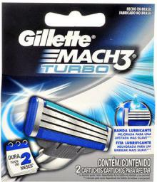 Gillette Mach3 Turbo Wkład do maszynki do golenia 2szt