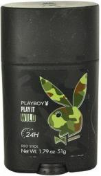 Playboy Play It Wild Dezodorant w sztyfcie 51g