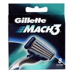 Gillette Mach 3 Wkład do maszynki do golenia 4szt