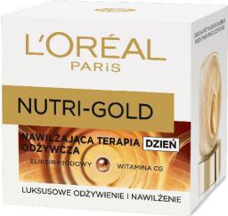 L'Oreal Paris Dermo Nutri Gold Nawilżająca terapia odżywcza na Dzień 50ml