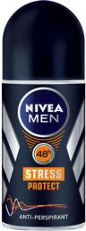 Nivea Dezodorant Antyperspirant STRESS PROTECT roll-on męski  50ml - 0182266