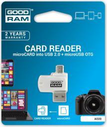 Czytnik GoodRam MicroSD USB (AO20-MW01R11)