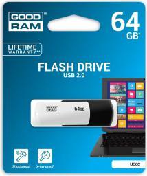 Pendrive GoodRam UCO2 64GB (UCO2-0640KWR11)