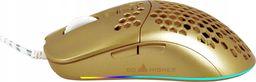 Mysz Go Higher GO HIGHER MYSZ GAMINGOWA J900 HEXA RGB GOLD GRACZ