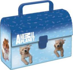 Starpak Kuferek tekturowy Animal Planet Cute niebieski (242319)