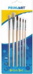 Starpak Pędzle naturalne kpl6szt PRIMA ART blister (323148)