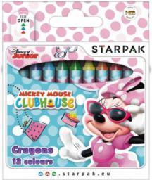 Starpak Kredki świecowe Minnie Mouse (352907)